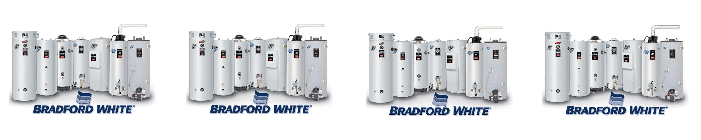 Bradford White products for slider