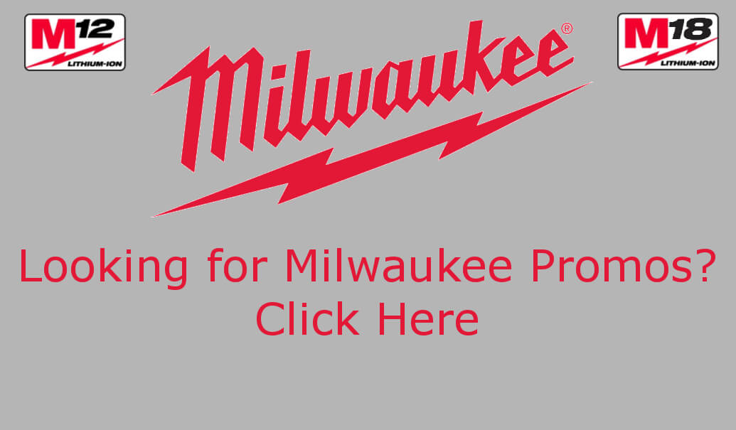Milwaukee Tool Promo Badge