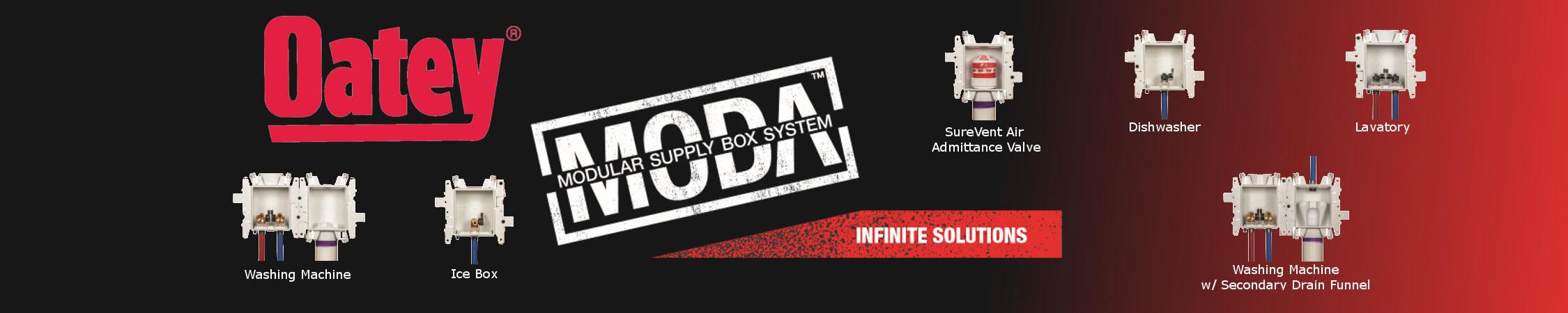 Oatey Moda Homepage banner